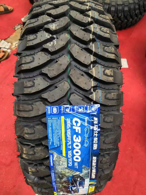 科马仕轮胎245 265/70/75R16 CF3000 MT泥地越野胎 帕杰罗 普拉多