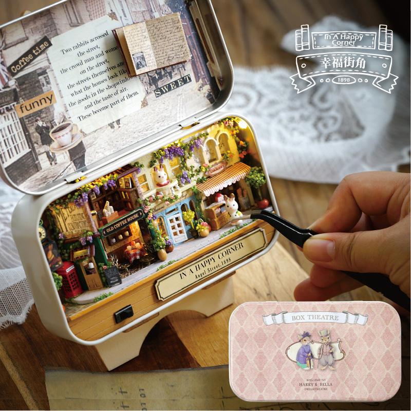 智趣屋diy小屋盒子剧场手工制作小房子拼装模型玩具生日礼物女生券后43.00元