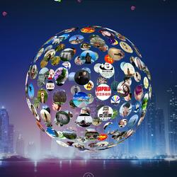 微信上墙大屏幕婚礼现场活动抽奖互动游戏摇一摇3D签到开业典礼