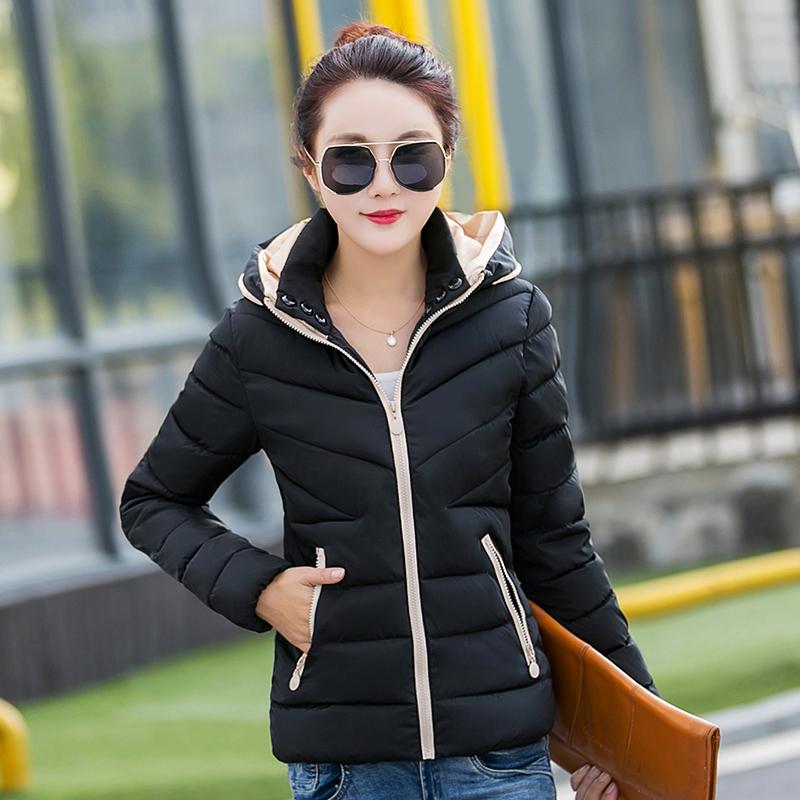 短款小棉袄宽松棉衣女2017冬装新款女装女士加厚外套羽绒棉服冬季