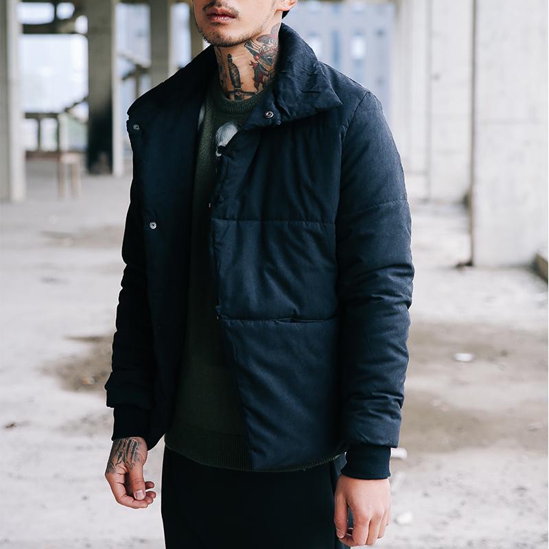 2020风冬季新款棉衣道袍盘扣日系唐装棉服外套潮B,男装棉衣,5018