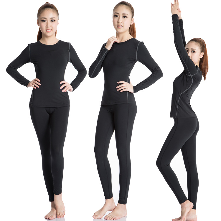 ジムランニング運動スーツヨガウェア女子速乾衣学生バスケットボールのボトムアップトレーニング服