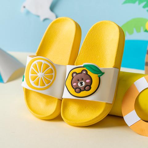 儿童拖鞋夏季女童男童小孩宝宝室内防滑中大童可爱外穿亲子凉拖鞋