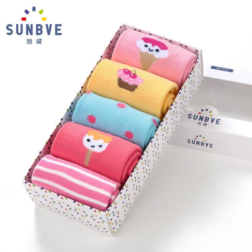 五雙 春秋 兒童襪子 女童襪子 嬰兒襪子男寶寶襪0~1~3~5歲
