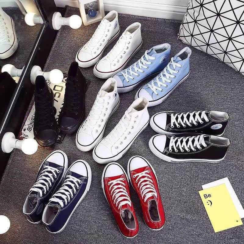 丑萌鞋平底情侣运动鞋帆布鞋运动韩版女学生小黑鞋男鞋新品春季夏