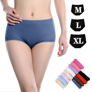 Full 38 Ms boxer underwear antibacterial bamboo fiber comfortable in waist size of code neiku