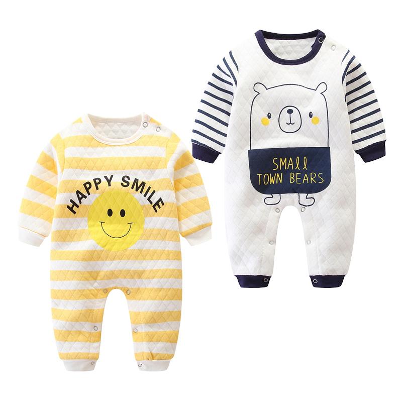 春秋哈衣1岁女宝宝冬装6个月睡衣(用5元券)