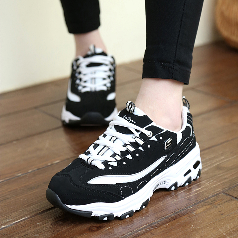 Popular small white shoes black and white board shoes mens panda running shoes Korean couple sports and leisure shoes ulzzang shoes mens shoes
