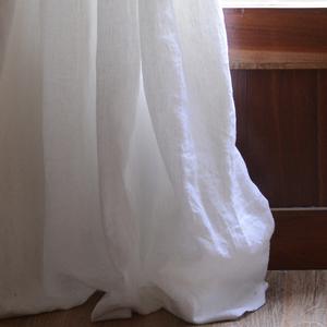 天然纯亚麻 法国亚麻美式法式北欧日式定制窗帘客厅书房榻榻米