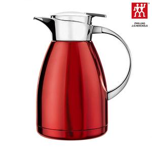 双立人保温壶热水壶热水瓶1.5L 喜庆中国红 结婚送礼