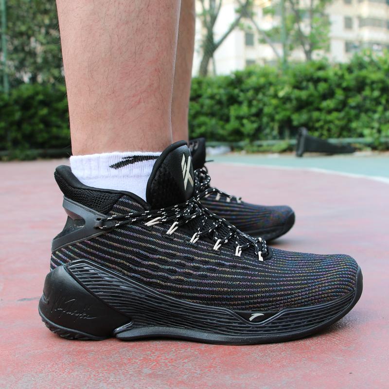 安踏男鞋2020新款篮球鞋汤普森KT4总决赛 KT5高帮球鞋112031101