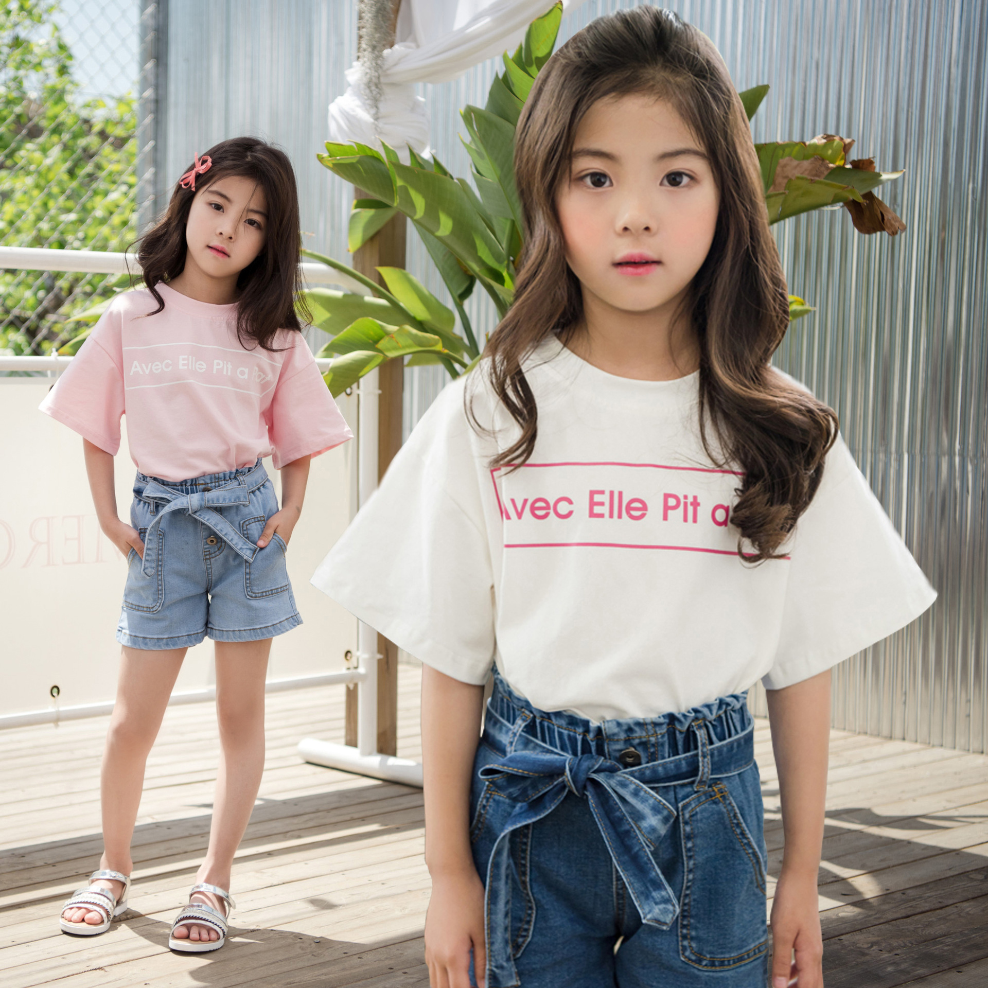 全棉印花T恤9