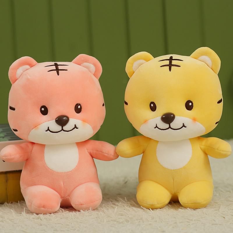 中國代購 中國批發-ibuy99 毛绒玩具 超萌可爱森洛老虎靠垫公仔毛绒玩具床上睡觉抱枕儿童玩偶布娃娃女
