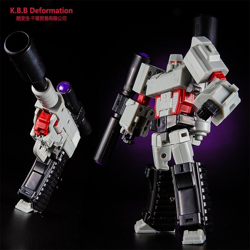 酷变宝变形玩具金刚5 手动拼装枪威震V天汽车机器人男孩高达模型