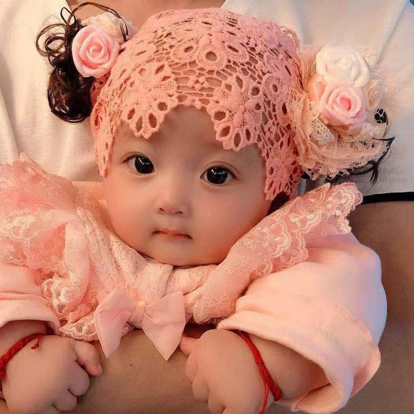 限10000张券包邮韩版儿童发带宝宝假发头饰帽子头花女婴儿发箍公主0-1-2-3岁