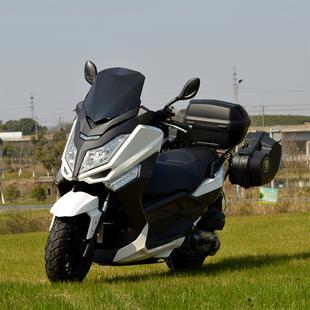 全新国四踏板车电喷巡洋舰摩托车大型300燃油T9摩托车整车 可上牌