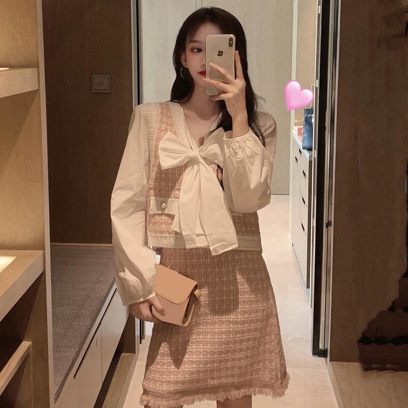 小香风秋季2019新款韩版洋气+衬衣10月20日最新优惠