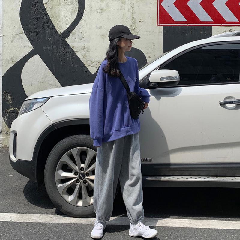休闲时尚套装女春秋2020新款韩版卫衣春装网红洋气裤子春季两件套图片