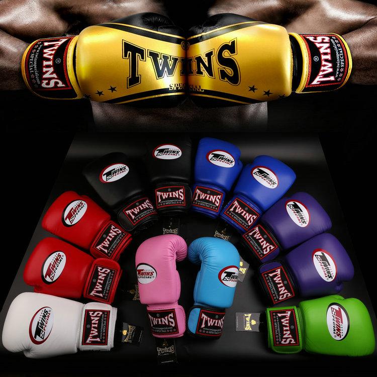 Таиланд импортировал перчатки двойни оригинал BGVL-3 Муай Тай бокса Санда перчатки мужские и женские Перчатки тренировочные бесплатная доставка по китаю