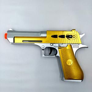 儿童宝宝电动冲锋玩具枪声光男孩音乐震动抢4小孩礼物手枪2-3-6岁