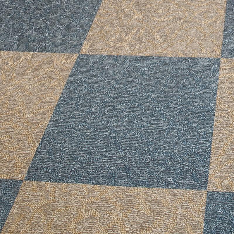 pvc地板革 地板贴家用免胶自粘加厚防水地板革水泥地直接铺仿地毯