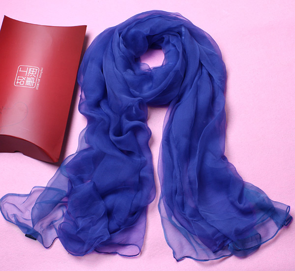 Silk Royal fragrance silk scarf for women in spring and autumn of 2019