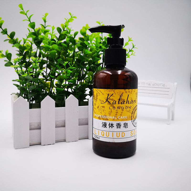 Star rated hotel B & B imported fragrance decontamination refreshing household portable refill press type hand sanitizer