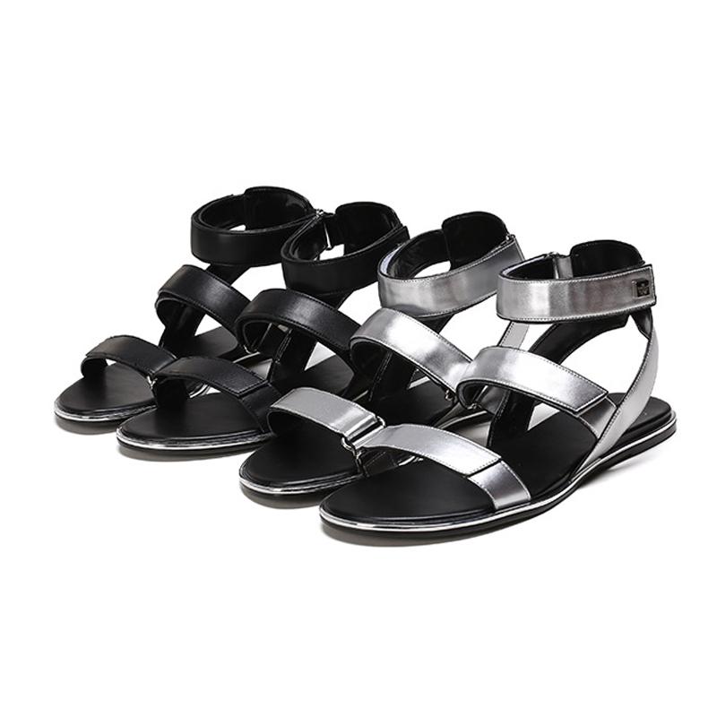 daphne /达芙妮女学生简约露趾凉鞋