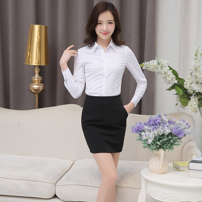 Professional skirt half length skirt show thin suit skirt cover hip skirt interview skirt pocket women work skirt one step skirt spring and summer