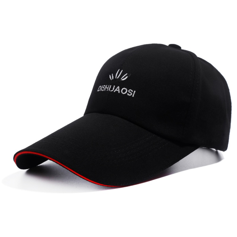 Men's hats youth sun hats autumn baseball caps lengthened leisure tide sun hats women's sports caps