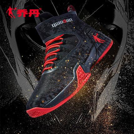 乔丹男鞋篮球鞋2020秋季新款高帮实战跑步鞋中帮魔术贴运动鞋男士图片