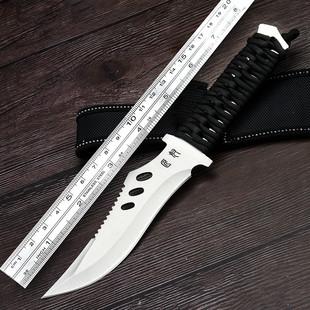 户外野外刀具 防身 冷兵 器軍工刀小刀隨身鋒利刀開刃直刀軍刀