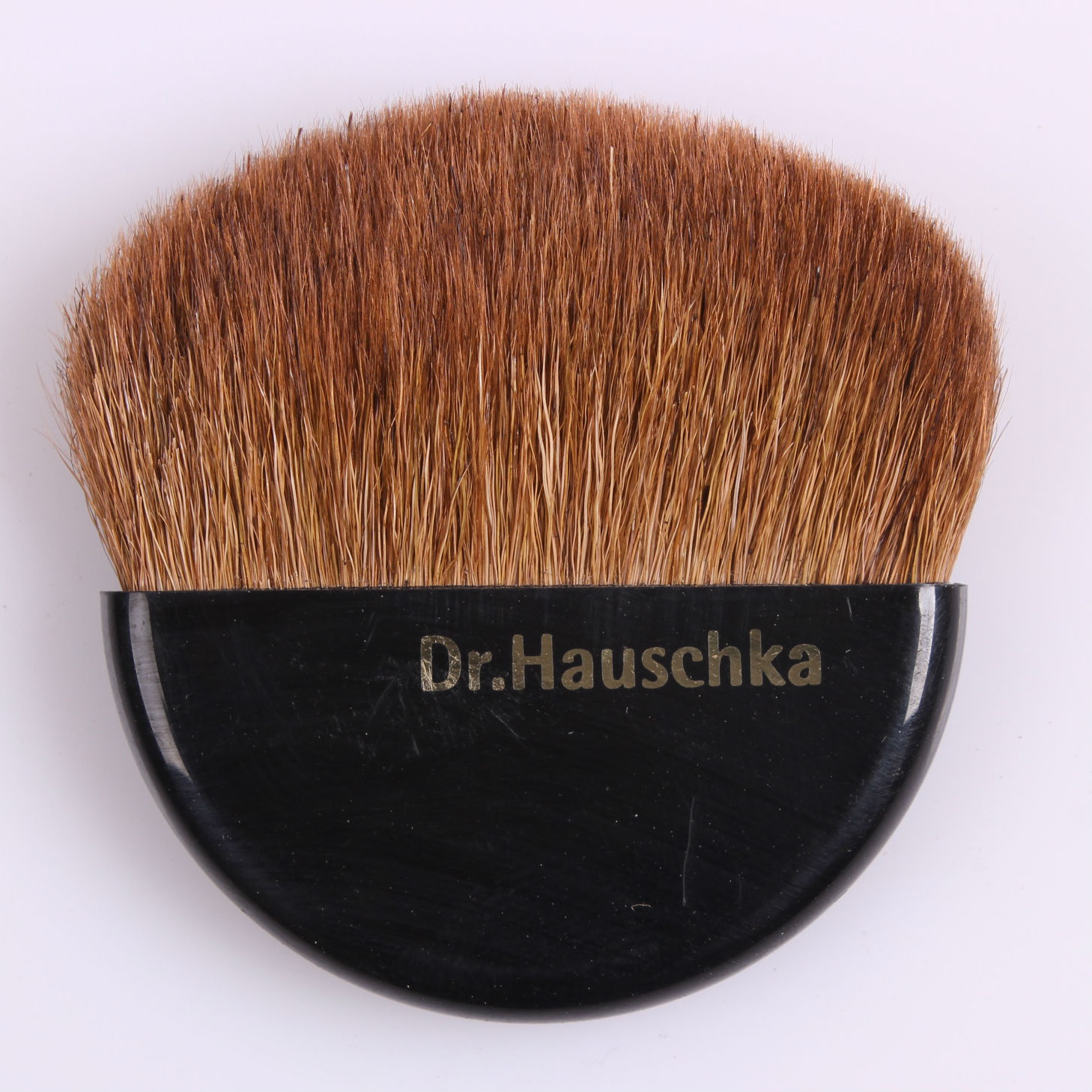 Portable beauty brush, blush brush, flat brush, wool brush powder, brush animal brush.