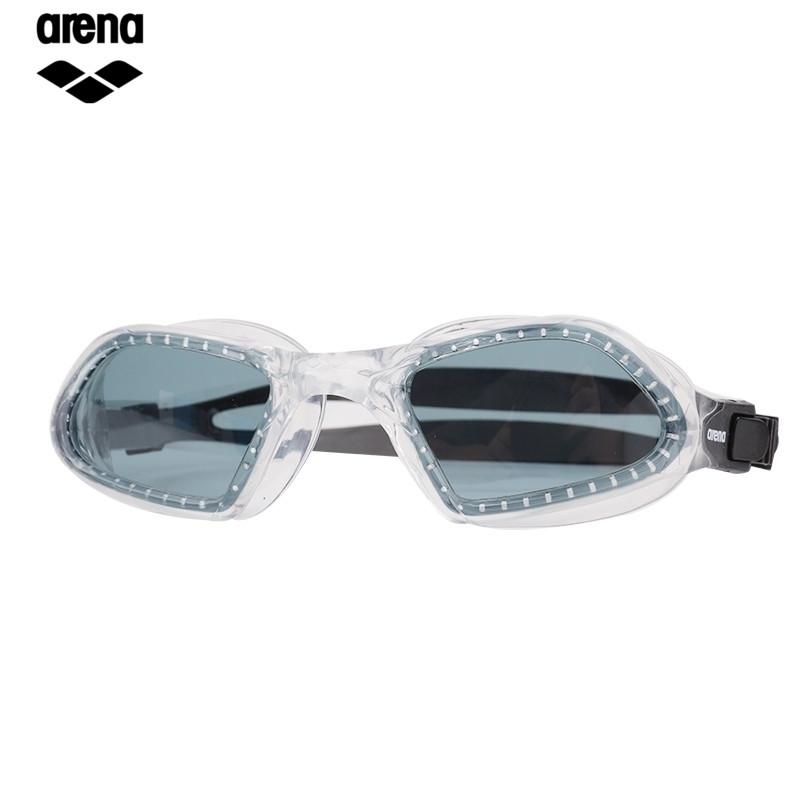Arena/阿瑞娜 新品泳镜大框高清专业防雾防水泳镜 大视野防雾泳镜12-02新券
