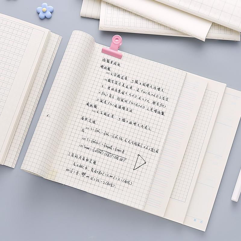 a5康奈尔高效笔记本子简约大学生课堂格子本网格本初高中生错题本热销44件限时2件3折