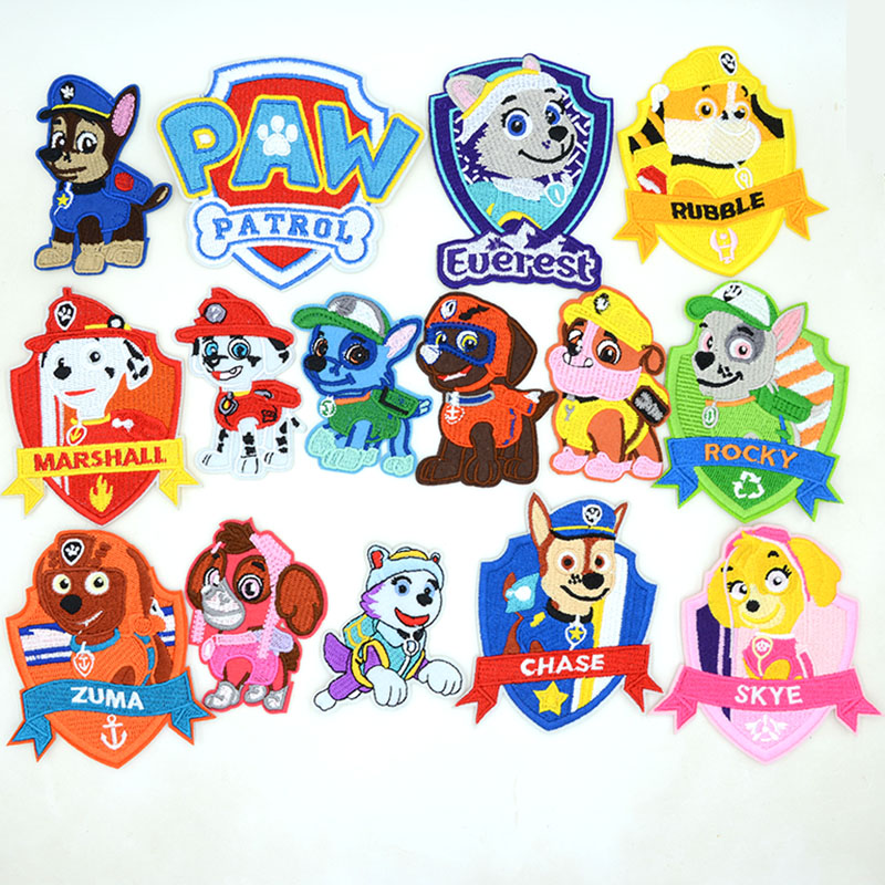 Wang Wangli Dagong team cartoon fashion patching embroidered clothes patching patching hole sewing subsidy versatile large cloth paste