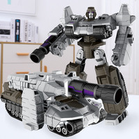 Sugar Rice Alloy Deformation Toy King Kong 5 Megatron L Танковый робот Cybertron G1 Model версия мужской Ребенок 4