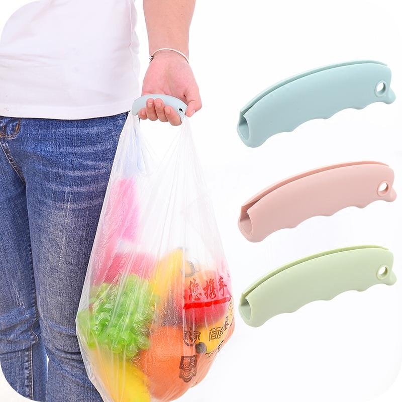 购物袋不勒手硅胶提物器省力提菜器多用提手拎袋器提塑料袋的提手