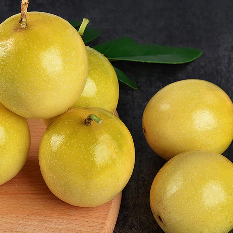 11-19新券黄金百香果黄色皮当季新鲜孕妇水果甜的百香果3斤特级果