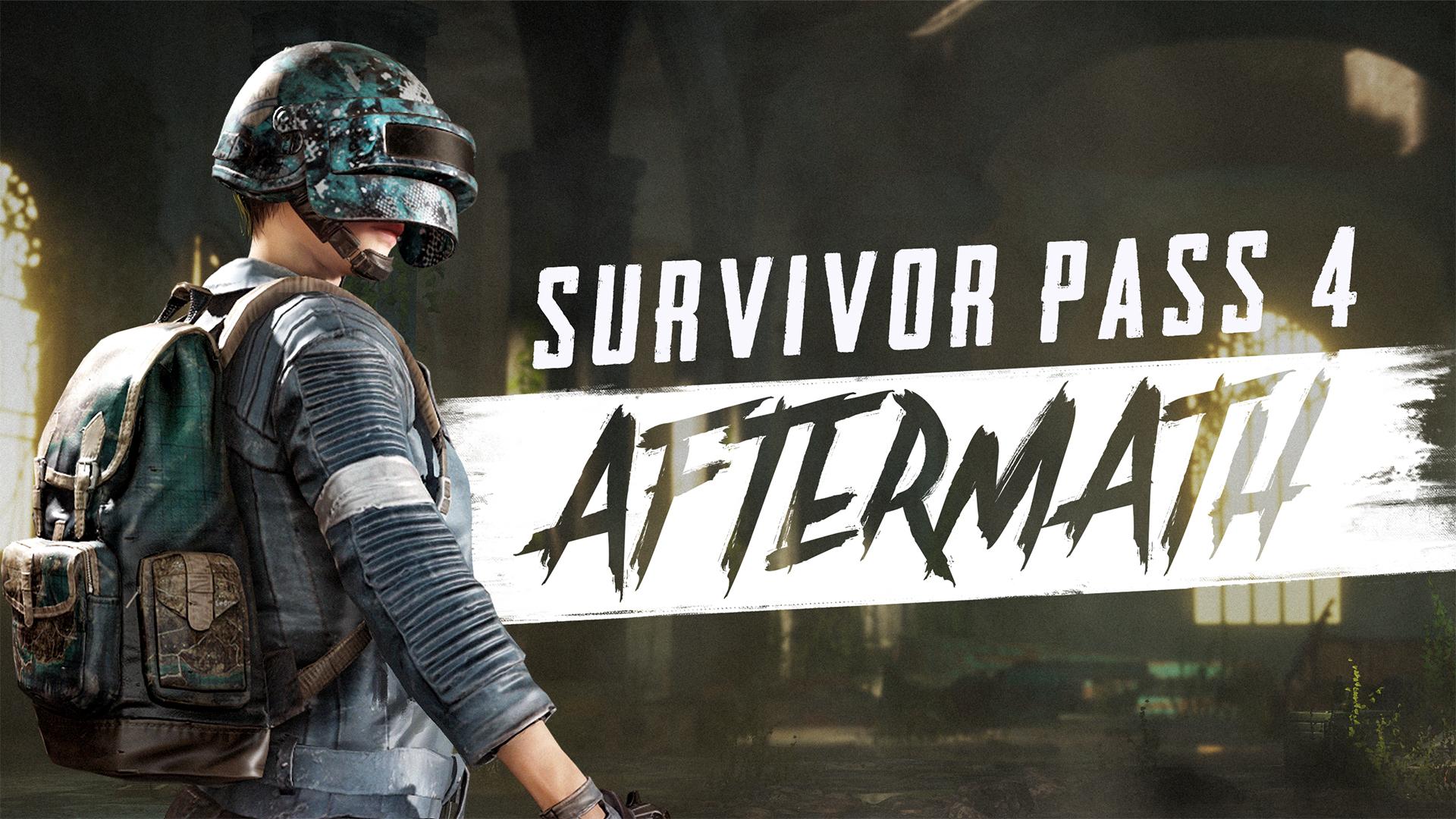 绝地求生吃鸡余波生存通行证4 /Survivor Pass 4 AFTERMAT新dlc