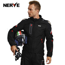 NERVE motorcycle cycling suit men's suit winter fall-proof waterproof four-season locomotive racing car rally Knight clothing