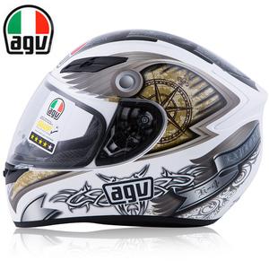 意大利AGV K5摩托车头盔双镜片碳纤维专业赛全盔跑盔K4防雾版头盔