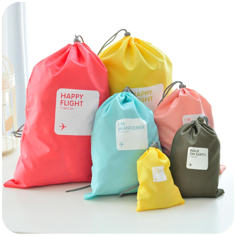 Любовь ♥ сумка путешествия Южная Корея шнурок шнурок Сумки Одежда водонепроницаемая образа жизни одежда сумки