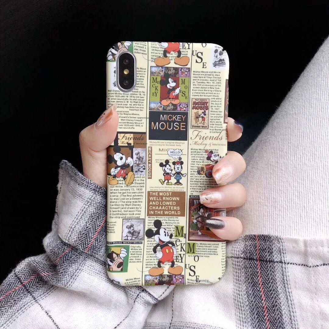 卡通米老鼠小米9se手机壳红米k20硬壳小米8青春男女款6x/6pro/6a/保手慢无