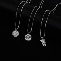 玫瑰金锁骨链小众网红潮彩金礼物18K小蛮腰纯银项链女韩版简约