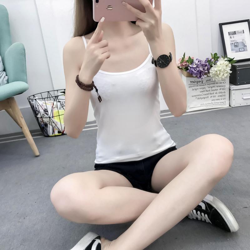 亚博娱乐平台入口图支持拼多多活动吊带背心女韩版外穿紧身上衣打底小吊带