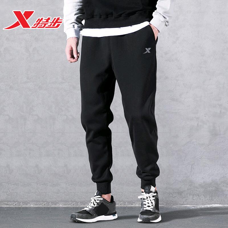 特步春季新款针织潮流宽松男士男裤质量好不好