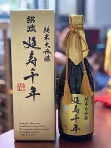 招德延年纯米大吟酿千寿日本清酒