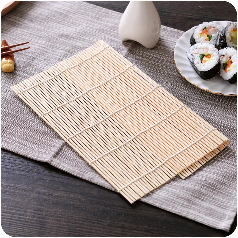 做寿司专用工具厨房寿司帘竹帘diy制作紫菜卷饭包饭用的帘子卷帘
