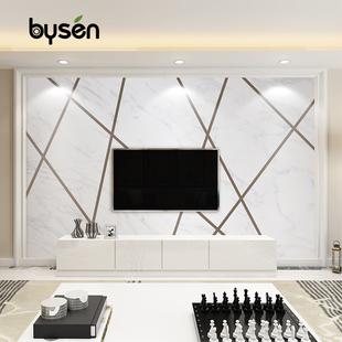 几何电视背景墙壁纸客厅无纺布墙纸影视墙线条墙布3d现代简约壁画